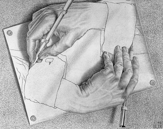 Ilustración de Escher. Fuente