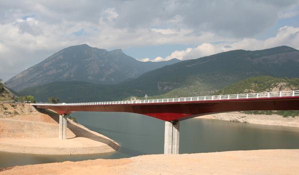 Puente de Sant Ermengol, Coll de Nargó.  Fuente: Enginyeria Reventós, SL.