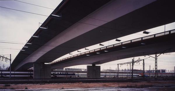 Puentes del Palomar, Barcelona. Fuente: Enginyeria Reventós, SL.