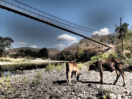 Pasarela del Pase Real, Nicaragua (foto de Bridges to Prosperity).