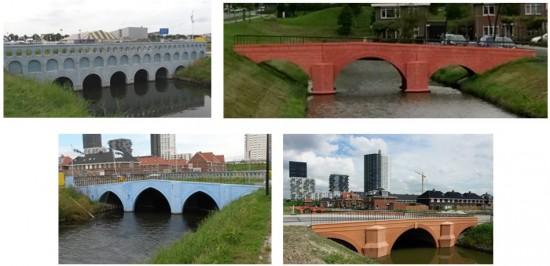 Puentes de 5, 10, 20 y 50 Euros