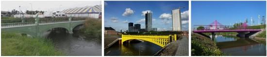 Puentes de 100, 200 y 500 Euros
