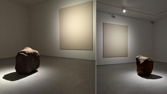 Man vs. Nature. Lee Ufan, Lisson gallery, London.