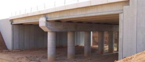 Puente de vigas prefabricadas. Referencia.