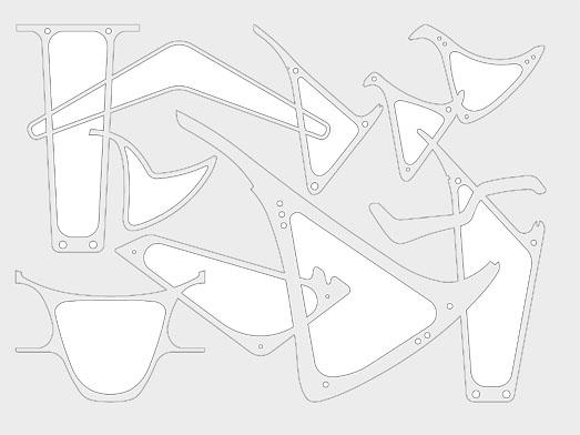 "Catálogo de ""vigas hueso"" de Fisac para ejecución de vigas prefabricadas postesadas ejecutadas mediante dovelas. Referencia."