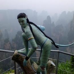 Reproducción de un Avatar en el Gran Cañón de Zhangjiajie
