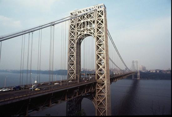 Puente George Washington en Nueva York, obra de Othmar Ammann. Referencia