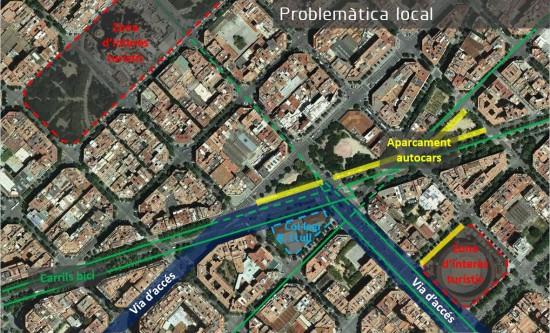 Mención especial de los Premios dobooku 2015: Projecte de remodelació de l'encreuament dels carrers Aragó i Marina amb l'Avinguda Diagonal de Barcelona. Autor: Albert Grases Pallerols.