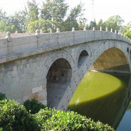 Exposición puentes de fábrica en la biblioteca de la UPM