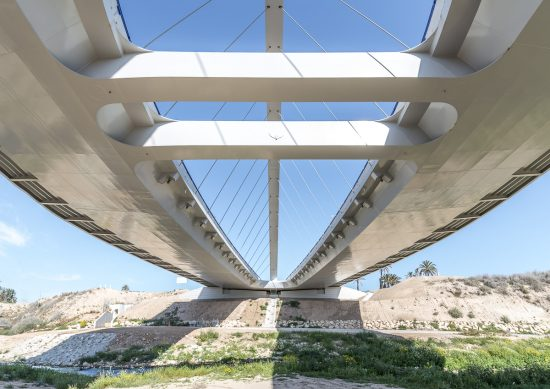 Puente sobre el río Vinalopó (Carlos Fernandez Casado SL)