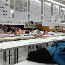 Concurso de puentes en la Escuela de Arquitectura ETSAV