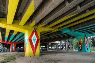 San Cristóbal, un puente de colores
