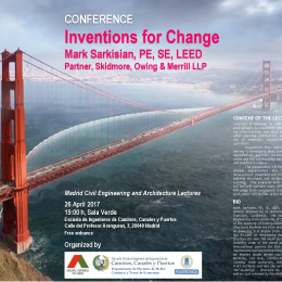 Inventions for change: Conferencia de Mark Sarkisian de SOM