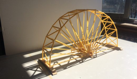 Concurso de puentes de espaguetis UPM 2017