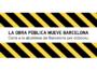 Carta a la alcaldesa de Barcelona